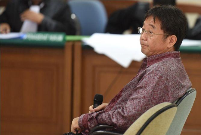 Swie Teng Dibantu Bos Sembunyikan Perbuatan Suap