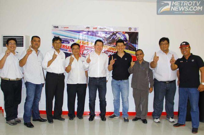 TDR Racing Gandeng Indoprom dan Korlantas Polri Bikin Balap dan Safety Riding