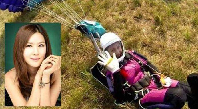 Artris Korea Cantik Jung In-ah Tewas Saat Terjun Payung