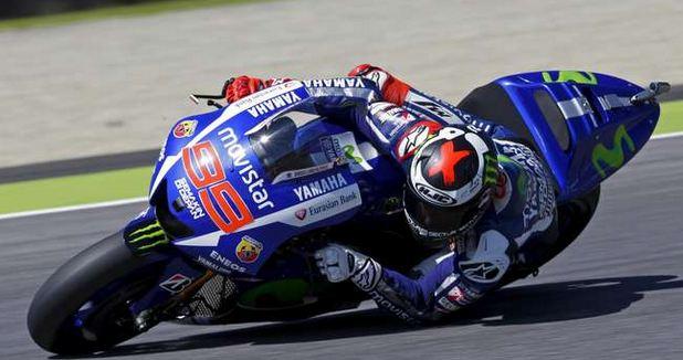 Jorge Lorenzo Kuasai MotoGP di seri Grand Prix Katalonia