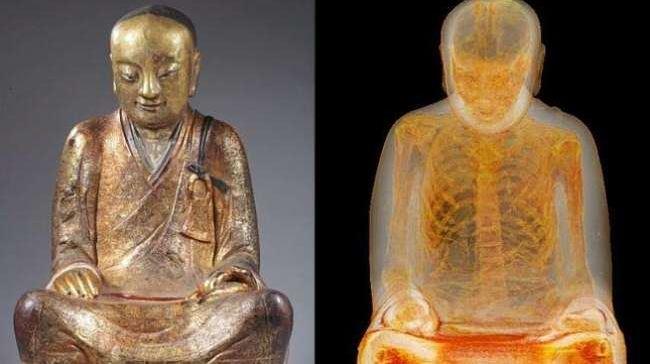 Photo of Patung Budha Ini Ada Mumi Didalamnya
