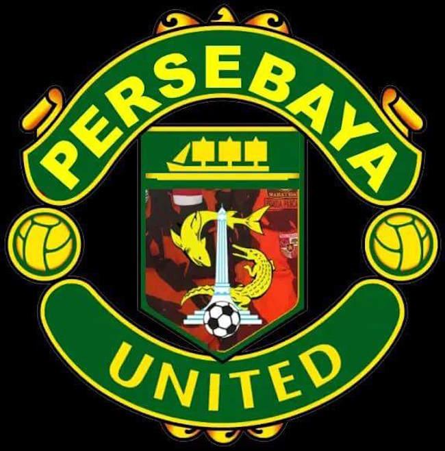 Logo Persebaya Tiru Logo Manchester United