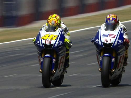 Photo of GP Brno Duo Yamaha Apit Marquez di Baris Terdepan
