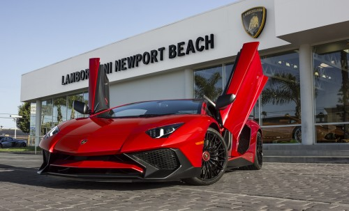 New Lamborghini Aventador LP 750-4 SuperVeloce Roadster