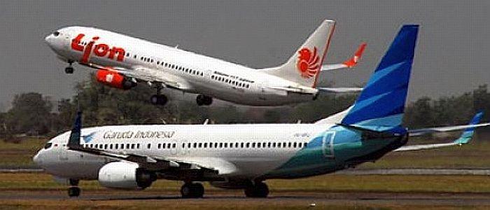 Garuda Indonesia Nyaris Senggolan Dengan Lion Air Di Makassar