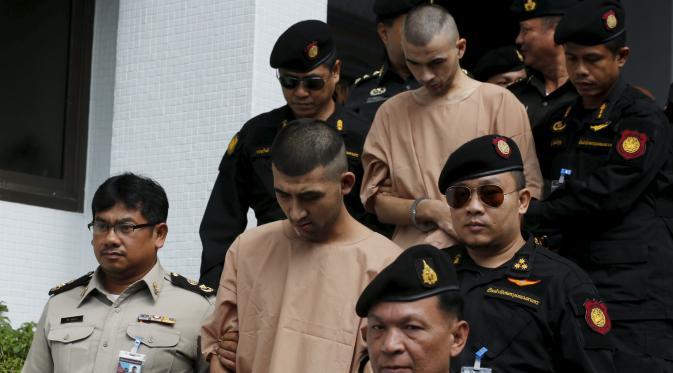 Pelaku Bom Bangkok Menghadap Pengadilan