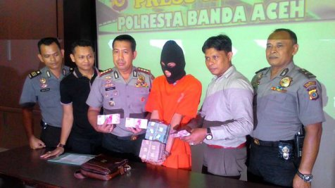 Polres Aceh Bekuk Satu Perampok Nasabah Bank, Tiga Masih Buronan