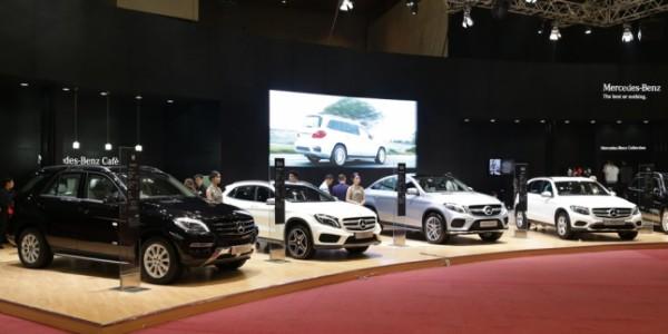 Mercedes-Benz Curi Perhatian Dengan 5 Line Up SUV