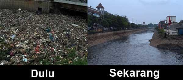 Kali Sentiong Bersih Dari Sampah