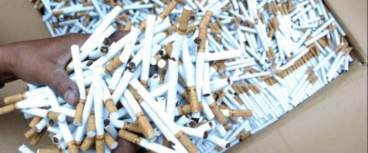 Petugas Bea Cukai Amankan Penyelundupan Rokok