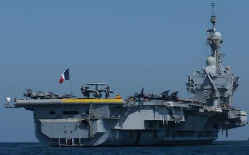 Prancis Mengintensifkan Serangan Dari Jalur Laut Ke Suriah