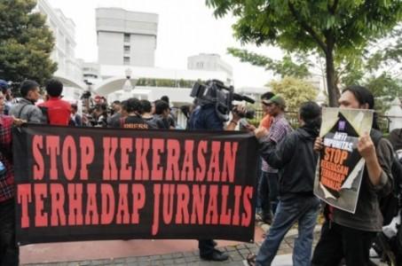 Wartawan Kecam Kekerasan Terhadap Jurnalis