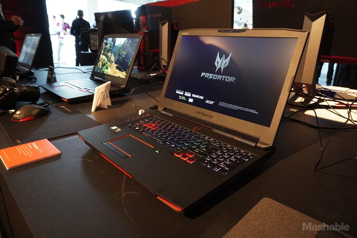 Acer pinginkan Predator 17X Gunakan Saluran Penyedot Udara