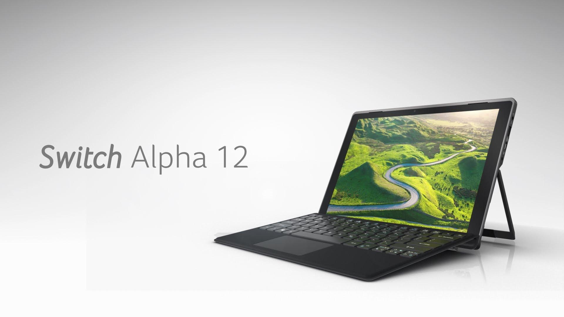 Aspire Switch Alpha 12, Notebook 2-in-1 Berteknologi Acer LiquidlLoop 1