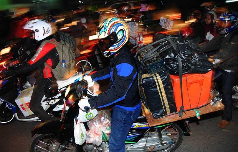 Cara Mudik yang Menghemat Mengenakan Sepeda Motor 1