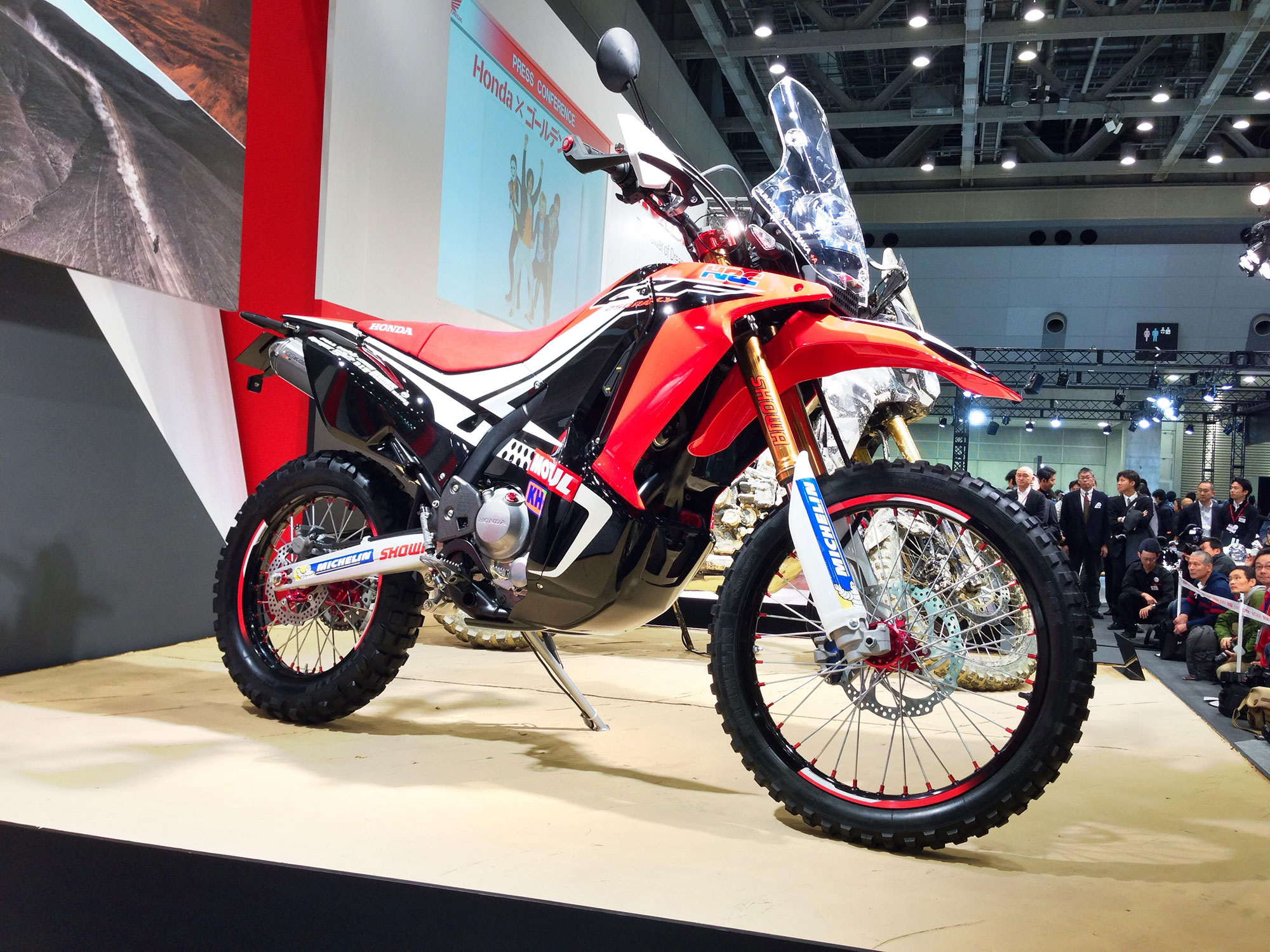 Photo of Honda Luncurkan Motor Trail Tipe CRF250 Rally