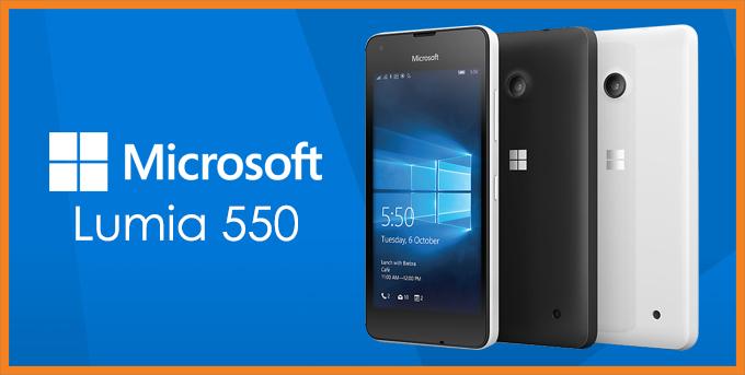 Photo of Microsoft Lumia 550 Usung OS Windows 10 Mobile