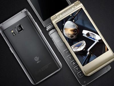 Samsung SM-2017 Usung 2 Layar Sentuh Berteknologi Super AMOLED