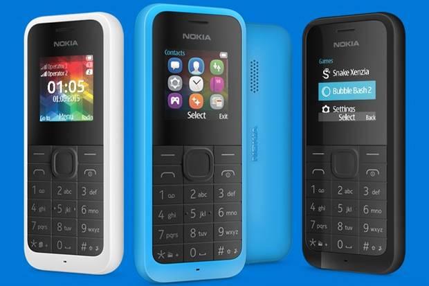 Nokia 105 Model Baru Dibandrol Rp 275.000