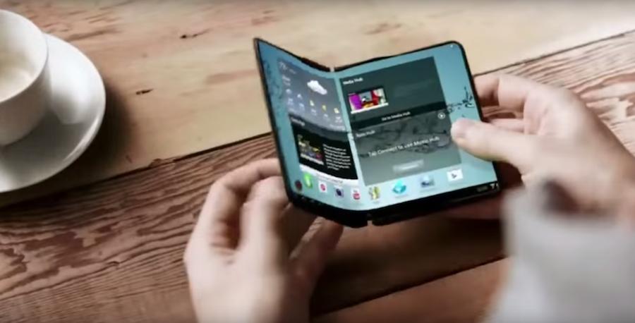 Samsung Berencana Publikasi Smartphone Bendable Screen 1