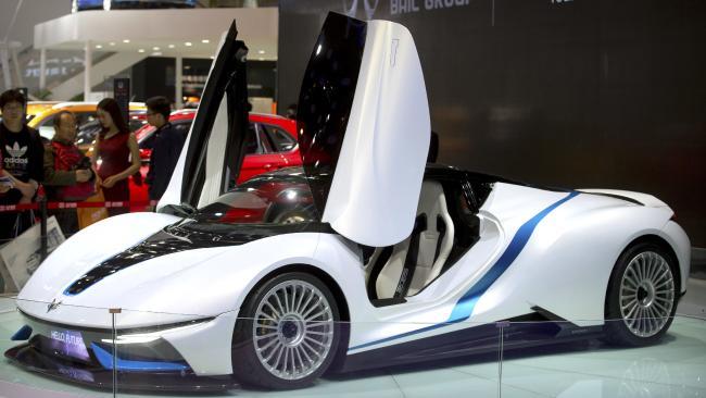 NextEV Mobil Listrik Super Kencang Lekas Merilis