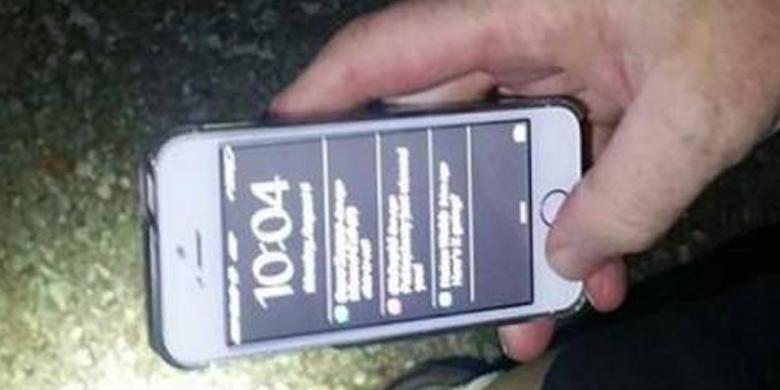 iPhone 5S Jatuh dari Pesawat Tapi Enggak Rusak Loh! 1