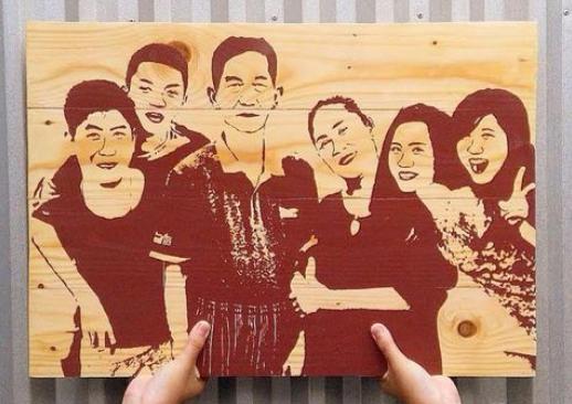 Photo of Raup Omzet Rp 10 Juta/Bulan dari Bisnis Lukisan Mukakayu