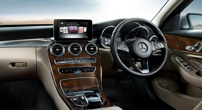 Mercedes Benz GLE450 AMG 2016 interior