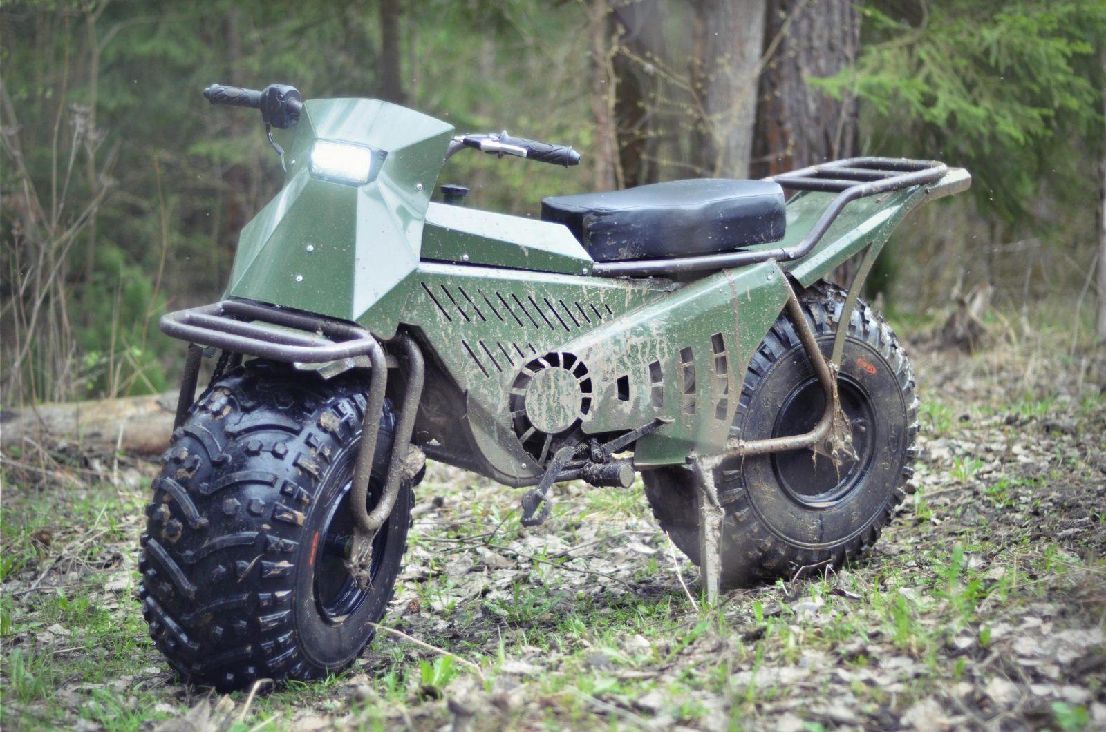 Taurus 2x2, Sepeda Motor 2D Yang Bisa Dibongkar Pasang 1