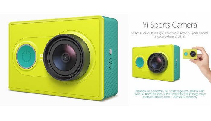 Photo of Xiaomi Yi Camera Unggulkan Kamera 16MP Bersensor  Exmor R BSI