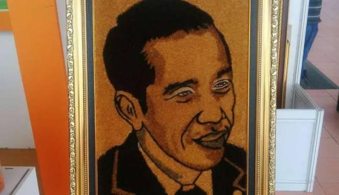 Photo of Cocofiber Art, Bisnis Lukisan Yang Andalkan Serabut Kelapa dan Ijuk