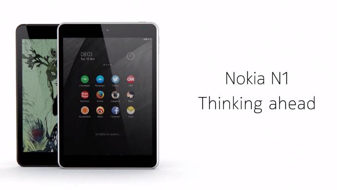 Resmi Dirilis, Nokia N1 Siap Tandingi Apple iPad Air 1
