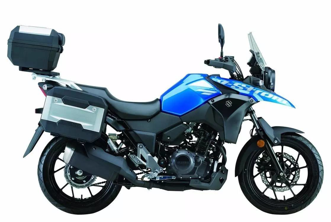 Suzuki V-Strom 250, Motor Sport Berdesain Sporty nan Elegan 1