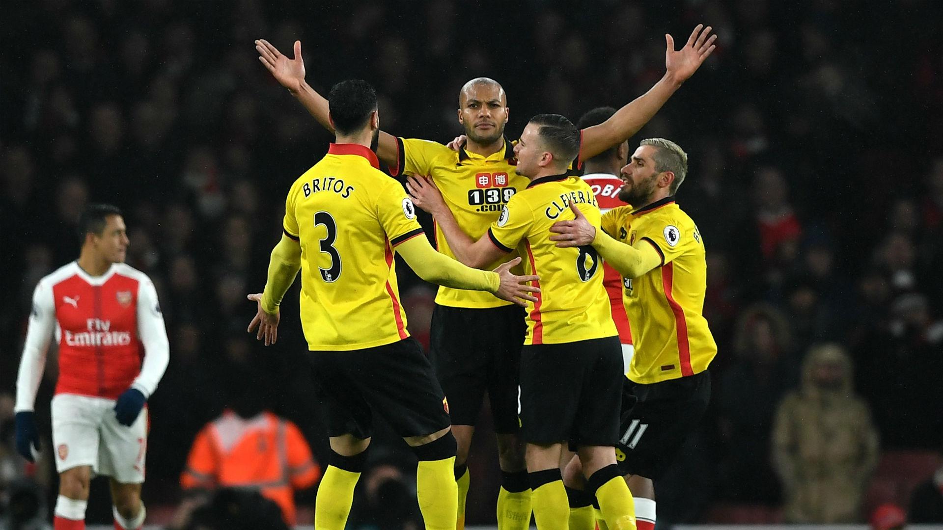Arsenal Gagal Pertahankan Posisi 2 Setelah Dilibas Watford