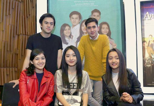 Sinetron Anak Sekolahan Bakal Sandingkan Natasha Wilona Dengan Verrel Bramasta 2