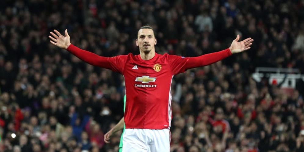 Ibrahimovic Jadi Top Scorer Sekaligus Pemasti Kemenangan Setan Merah 2
