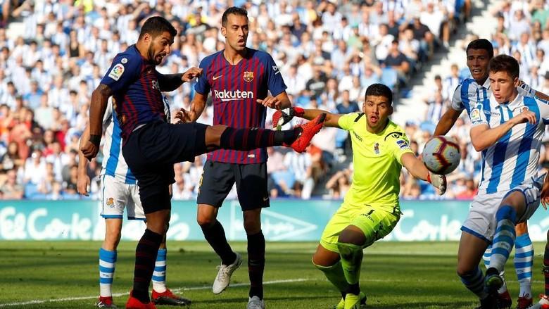 Barcelona Cuma Bikin 2 Tembakan, Kerja Madrid Sudah Bagus