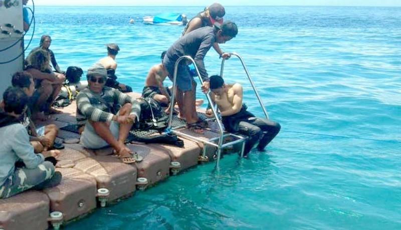 Upaya Pencarian Penyelam Yang Hilang Di Nusa Penida