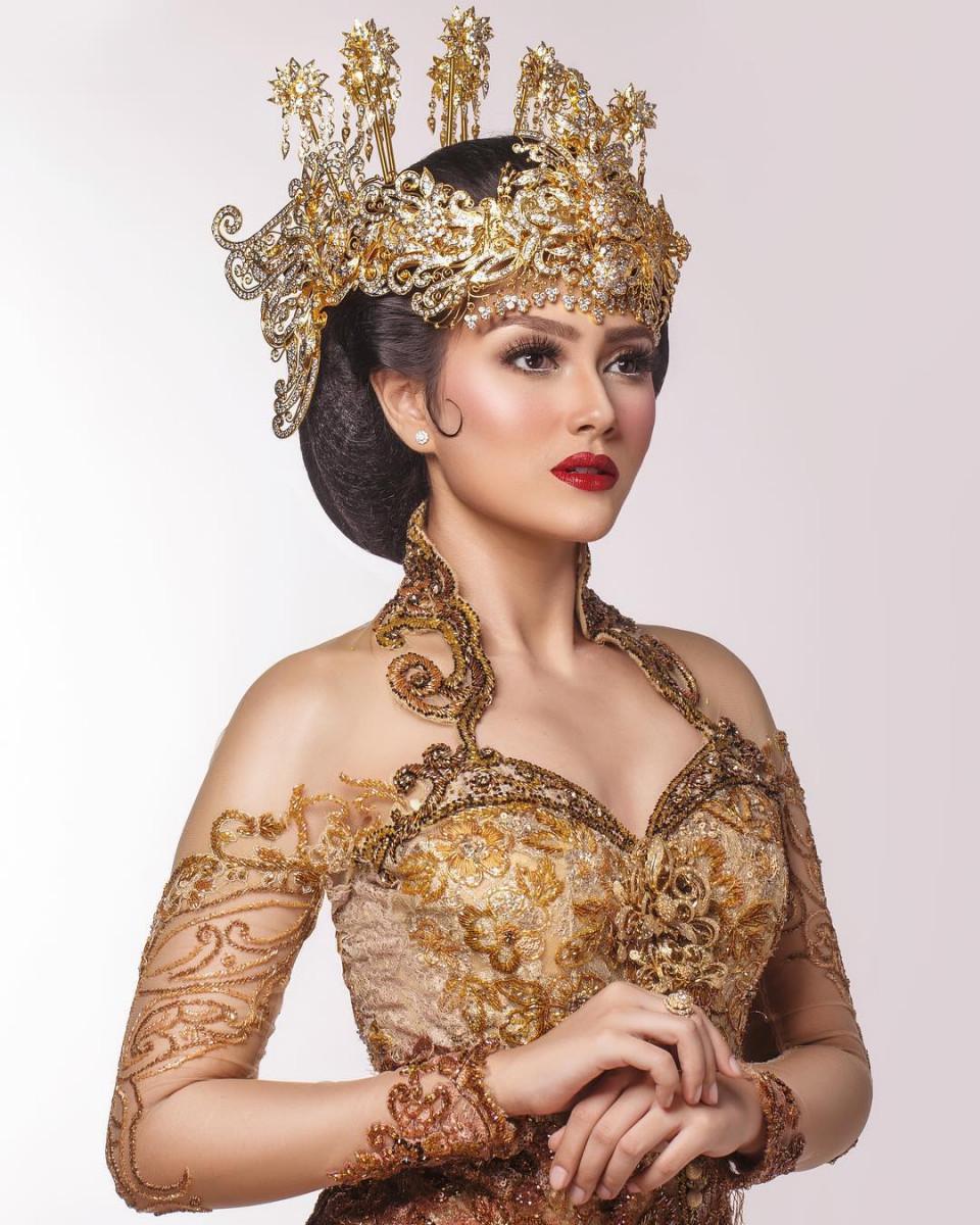 Photo of Jesica Fitriana Di Miss Supranational 2019