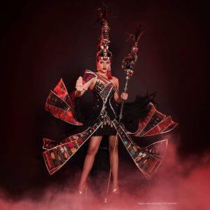 Jesica Fitriana Pakai Kostum Batak di Miss Supranational 2019