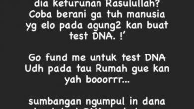 Photo of Dibilang Lonte, Nikita Mirzani Menantang Habieb Rizieq Test DNA